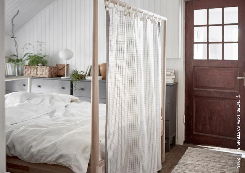 Cadre de lit GJÖRA bouleau en 2019 | Chambre à coucher | Ikea bed ...