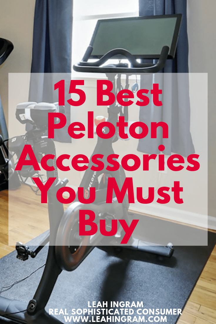 16 Best Peloton Accessories You Must Buy In 2020 With Images Bicycle Workout