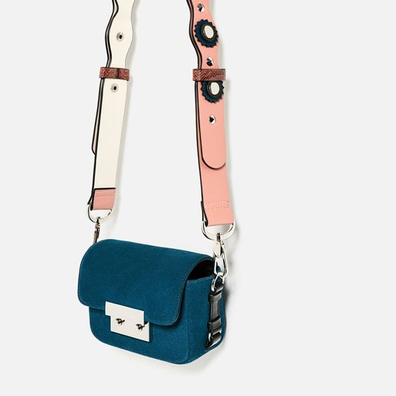 Image 6 Of Double Look Leather Mini Crossbody Bag From