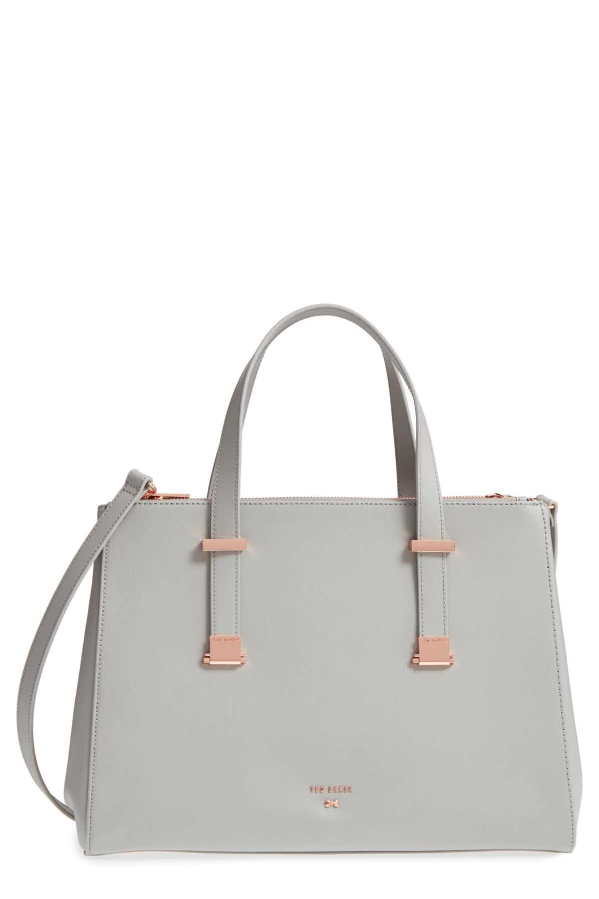 6fb1f60e73 Aminaa Large Adjustable Handle Leather Shopper by Ted Baker London on  @nordstrom_rack