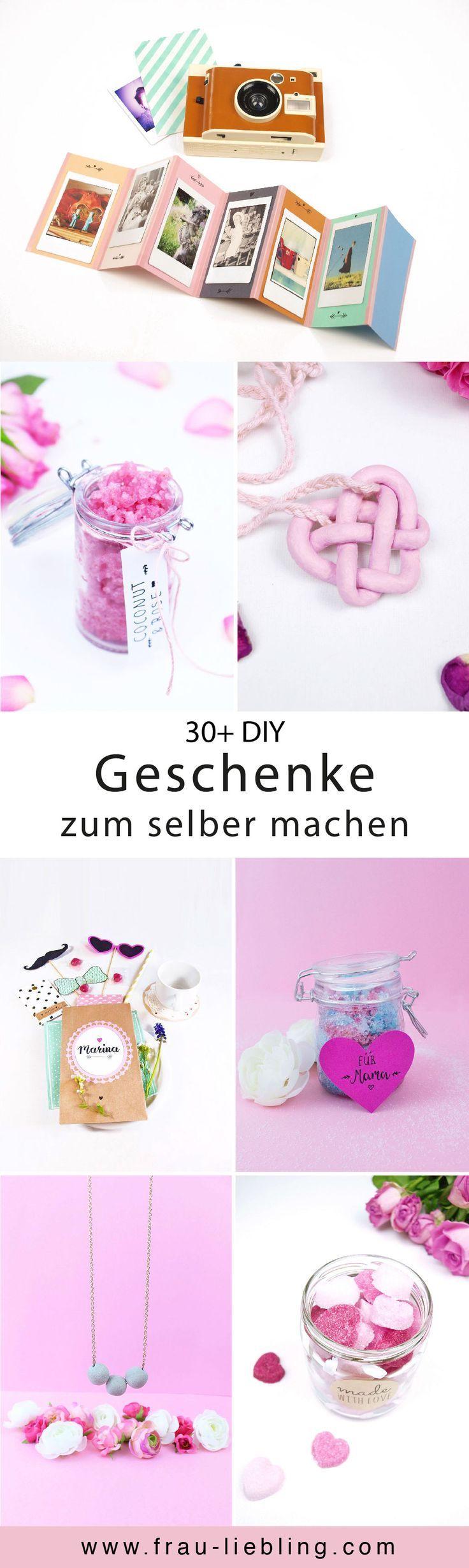 DIY Glückskekse aus Papier basteln | Geschenkideen | Pinterest