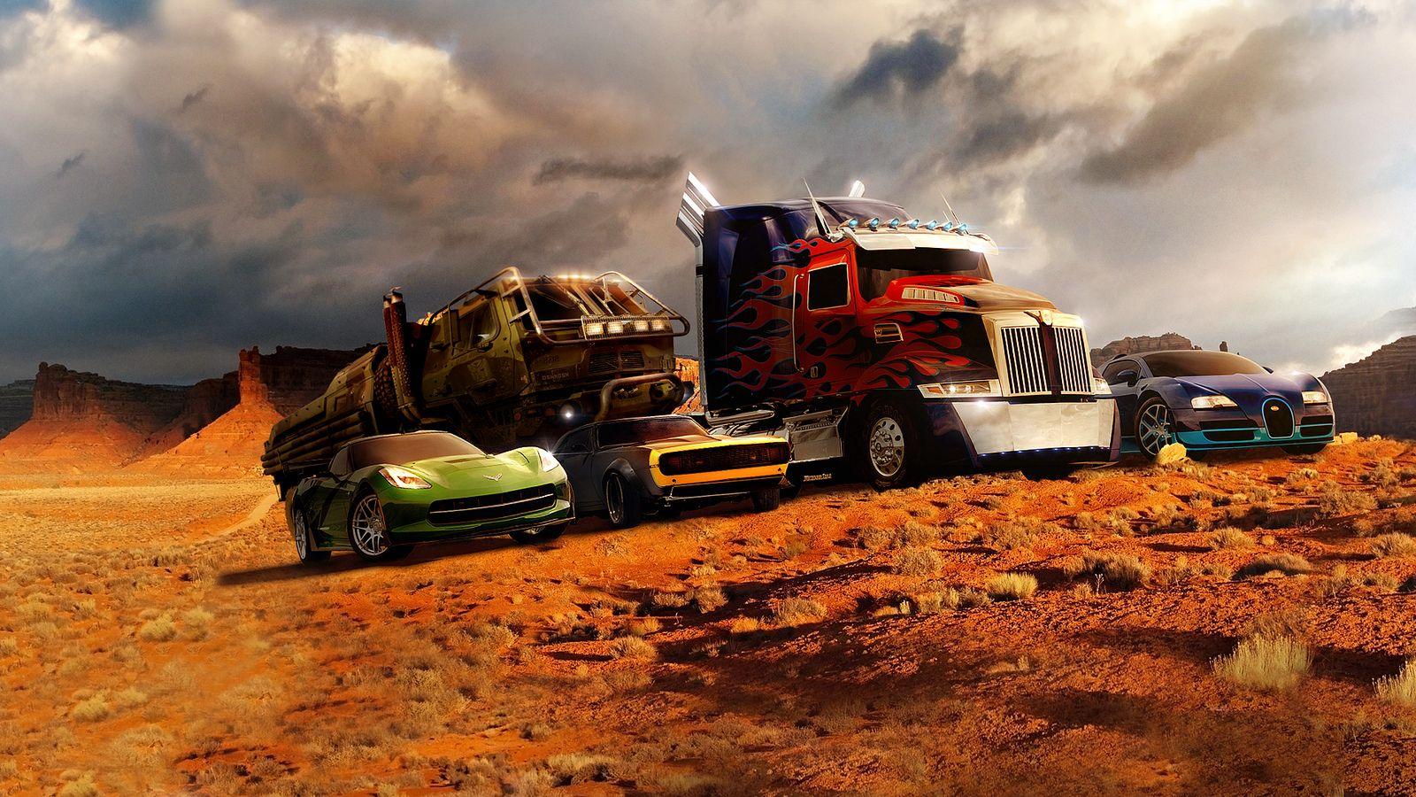 Transformers 4 Autobot Cars Dengan Gambar Transformers Movie