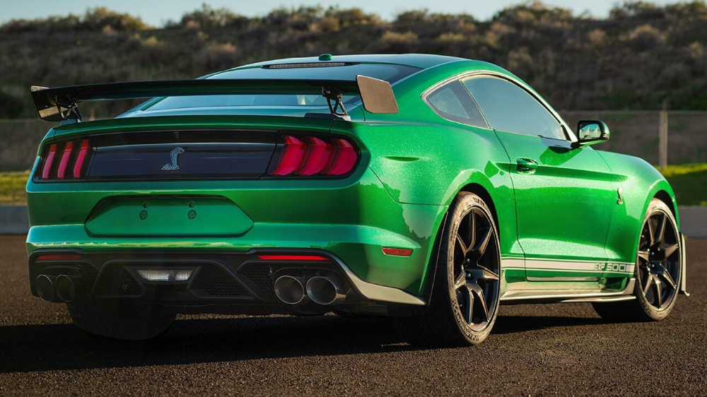 1 1 Million 2020 Ford Mustang Shelby Gt500 Is Very Green Machine In 2020 Ford Mustang Shelby Ford Mustang Shelby Gt500 Shelby Gt500