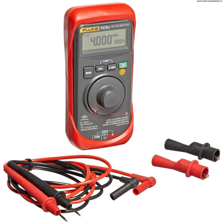 Fluke Loop Calibrator 707 Ex Hart Compatible 1 Year Warranty Measurement Tools Loop User Manual