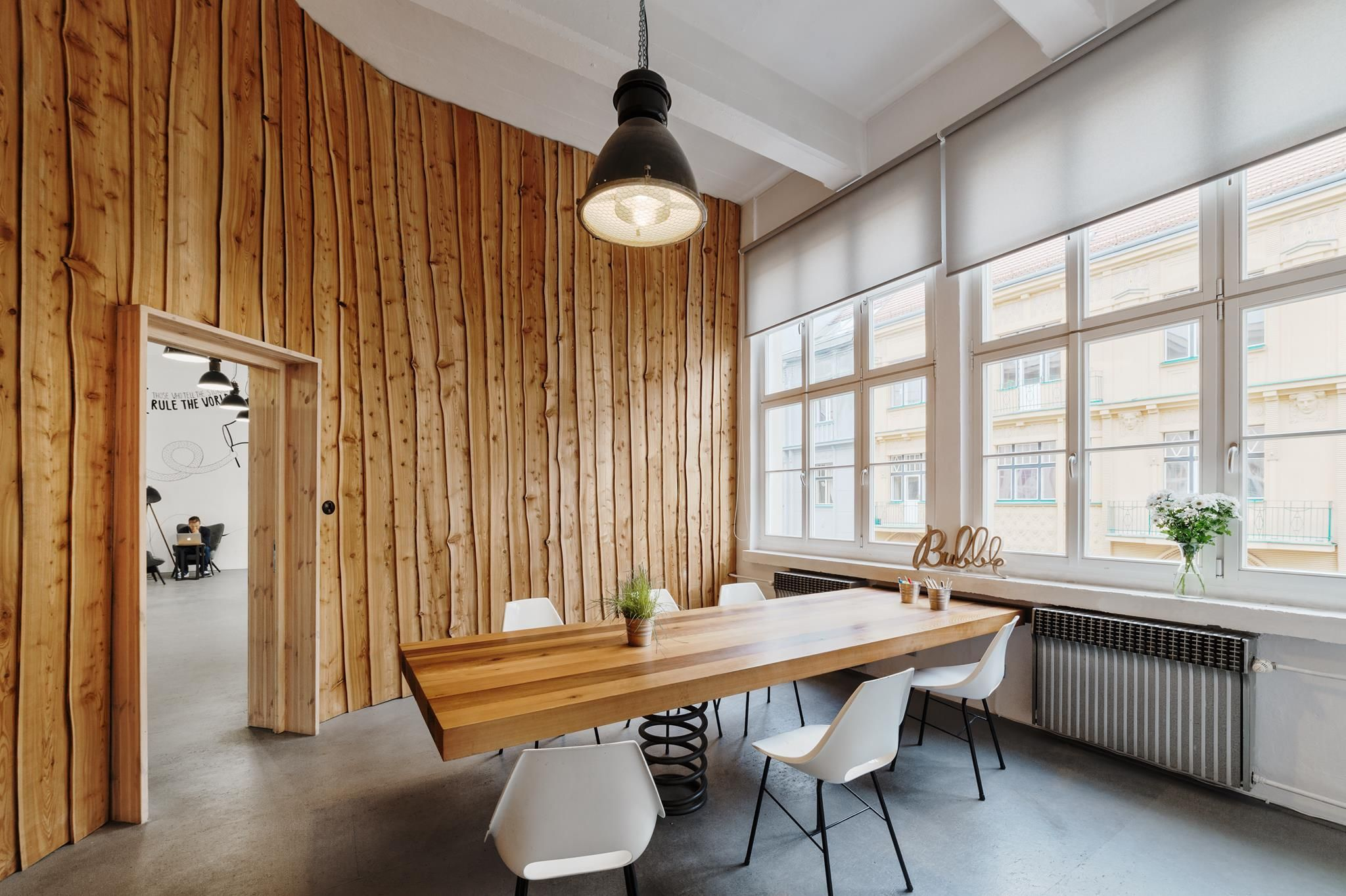 A Tour Of Bubble S New Super Cool Office Prague Meeting Rooms  # Muebles Cafe Internet