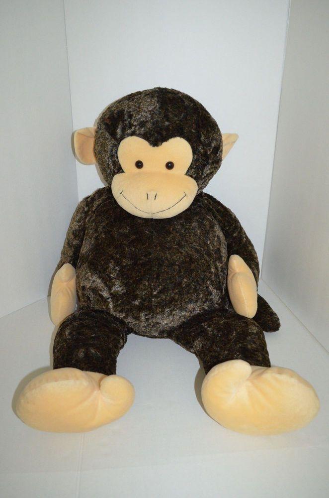 Animal Alley Monkey Plush Brown Toys R Us Jumbo 38 Animalalley