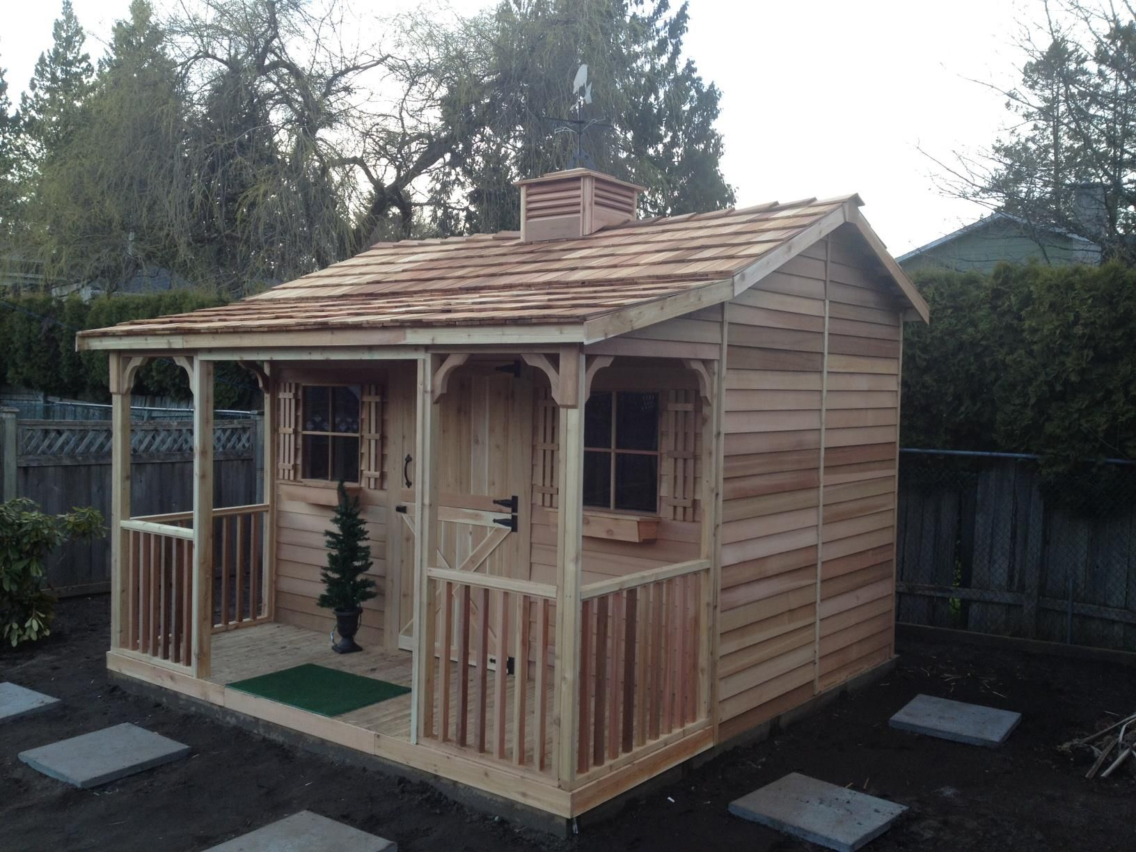 The bunkhouse diy kit is available in 3 size includes all assembly hardware and plans no cutting required cedarshed com