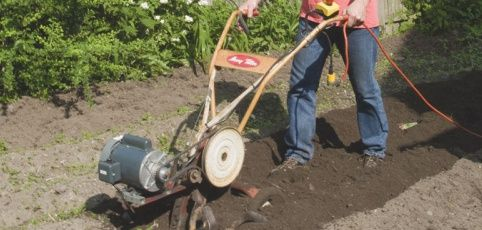 electric garden tiller. DIY Electric Tiller Conversion: Page 2 Of Garden