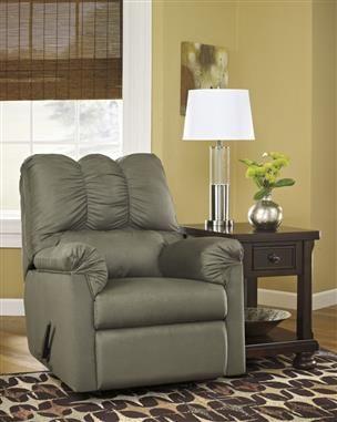 Darcy Sage Wood Rocker Recliner Ashley Furniture Living Room Furniture Choice Furniture
