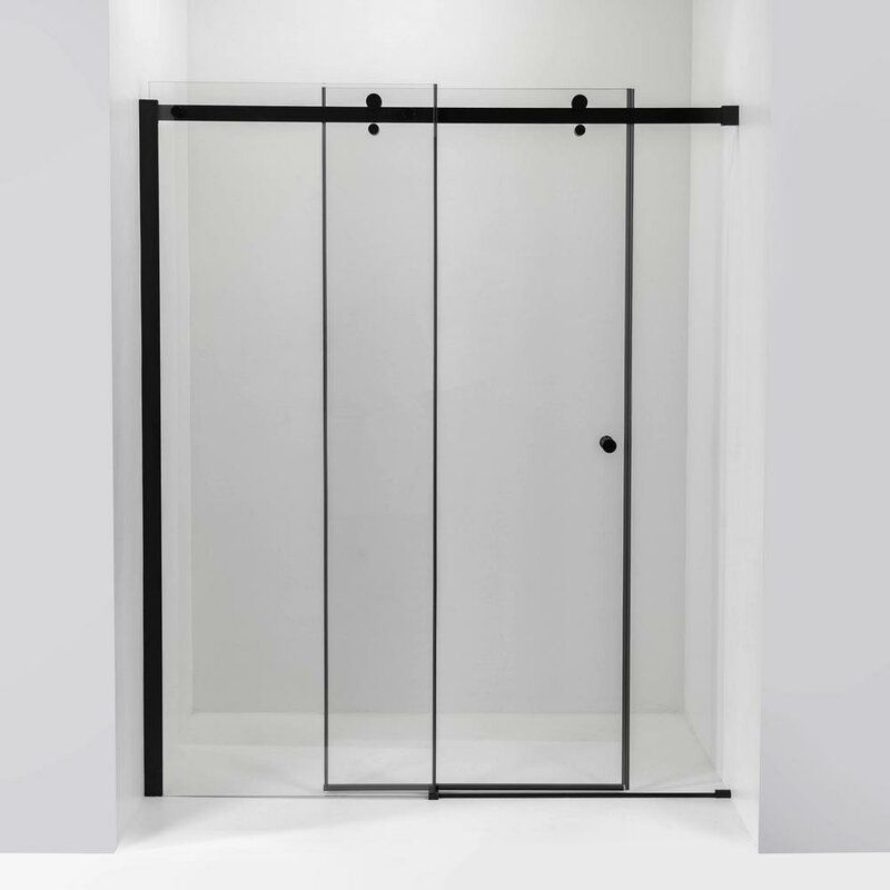 Primo Sliding Bypass Frameless Shower Door In 2020 Shower Doors Frameless Sliding Shower Doors Tub Shower Doors