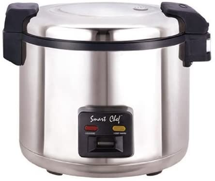 Amazon.com: Welbon WRC-1070S 33 Cups Stainless Steel Commercial Rice Cooker with Heavy Duty Non-Stick Inner Pot, ETL & UL, Silver: Appliances