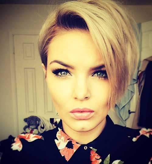 10 Short Haircuts for Straight Thick Hair  Makeup  Pinterest