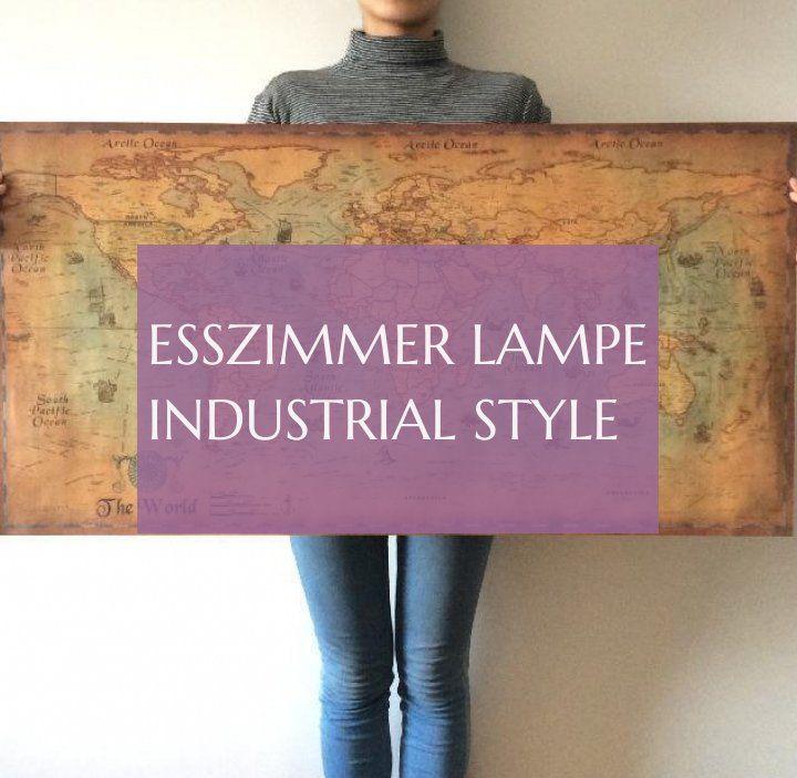 Esszimmer Lampe Industrial Style 10.03.2019 #esszimmerlampe