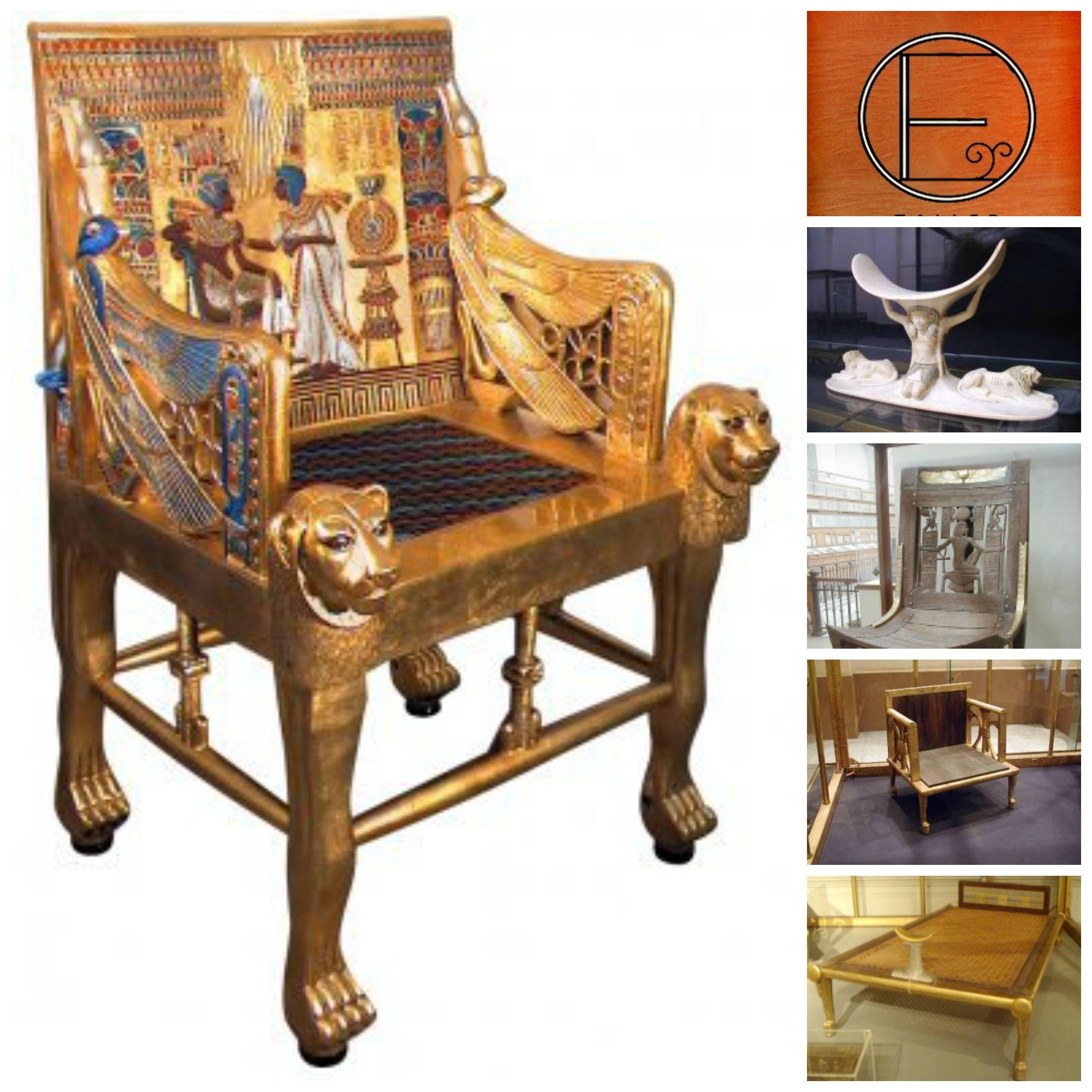 En los muebles para reyes se utilizaban materiales preciosos como el ...