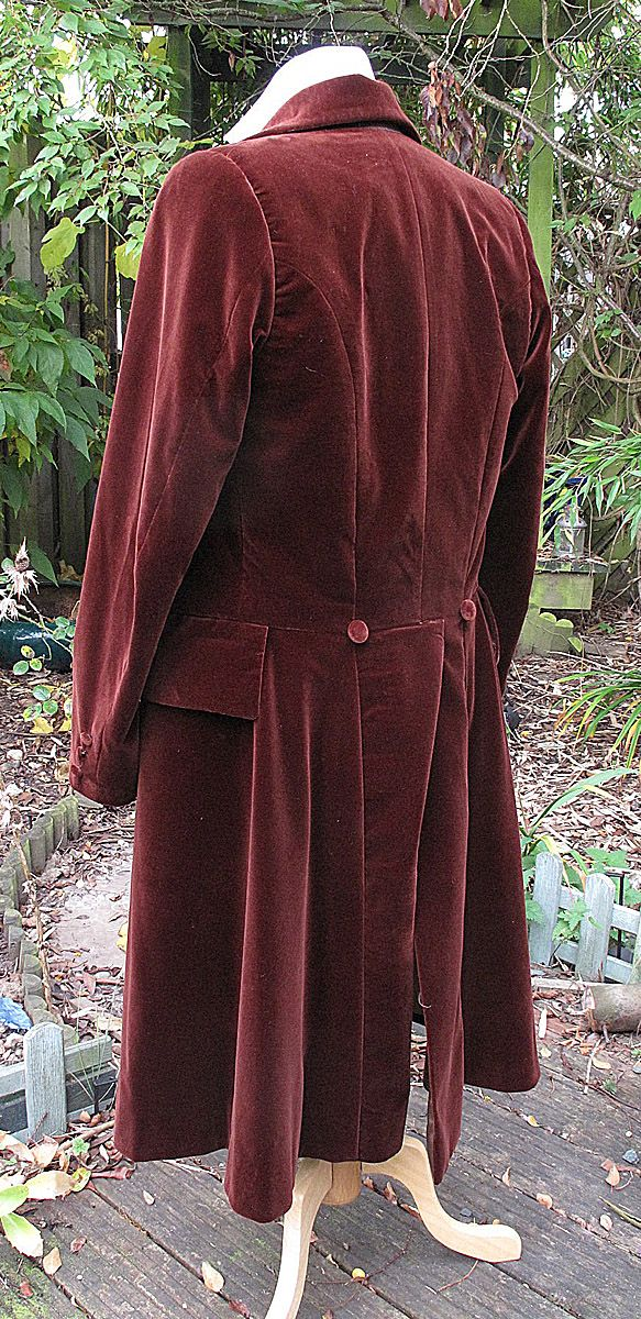 Making my 4th Doctor Costume: The Frock Coat Of Evil