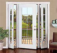 single patio door french doors patio