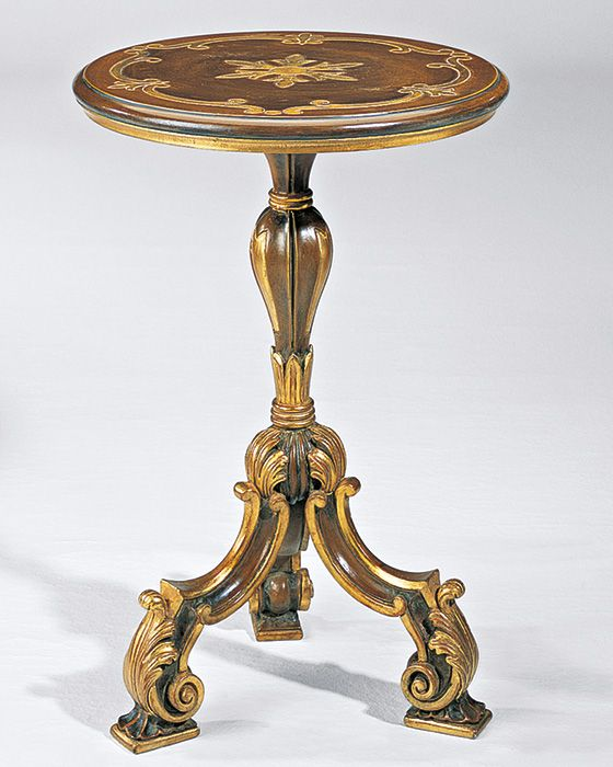 Louis xiv style table and louis xiv occasional table