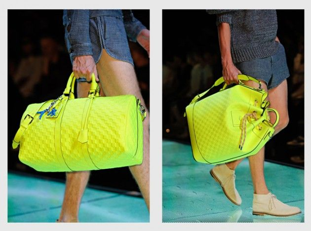 Louis Vuitton Men's Spring/Summer 2013 Bag Collection - Neon Take-Over • Highsnobiety
