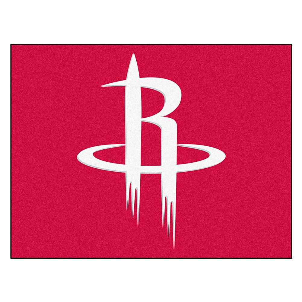 Officially Licensed Nba All Star Door Mat Houston Rockets 9120654 Hsn Houston Rockets Nba Houston Rockets Team Colors