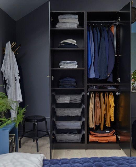 Envie de créer un dressing ? Découvrez les styles, les couleurs et - couleur des portes interieur