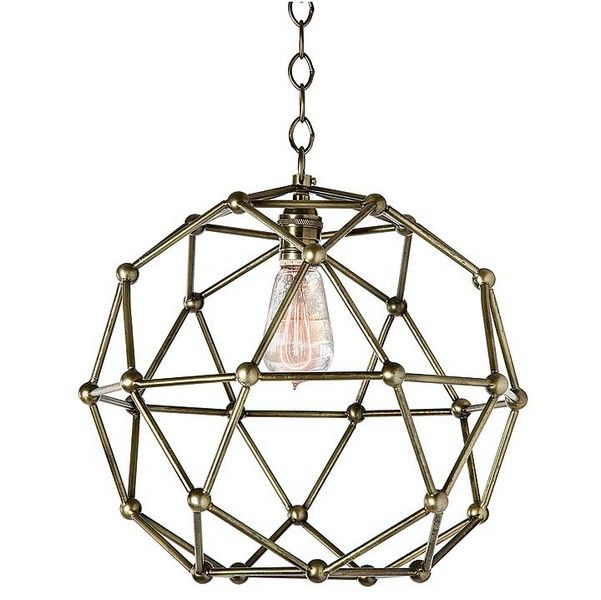 Regina Andrew Molecule Pendent #interiorhomescapes #pendant #reginaandrewdesign #design #decor #home #lighting