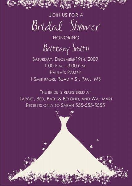 Hilarious Bridal Shower Invitation Wording
