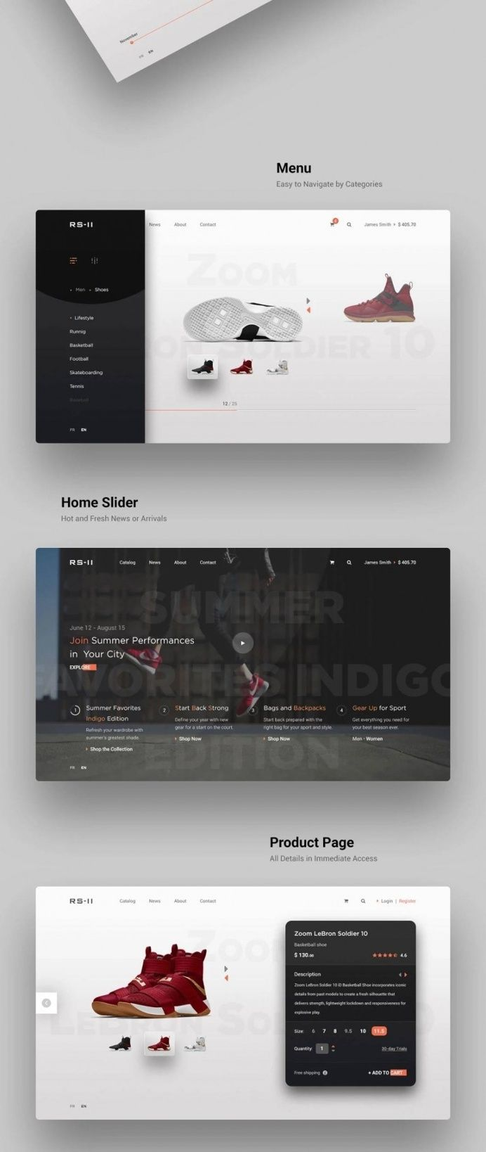 Pin by JD UI/UX Designer on Web Site Design inspiration - User ...