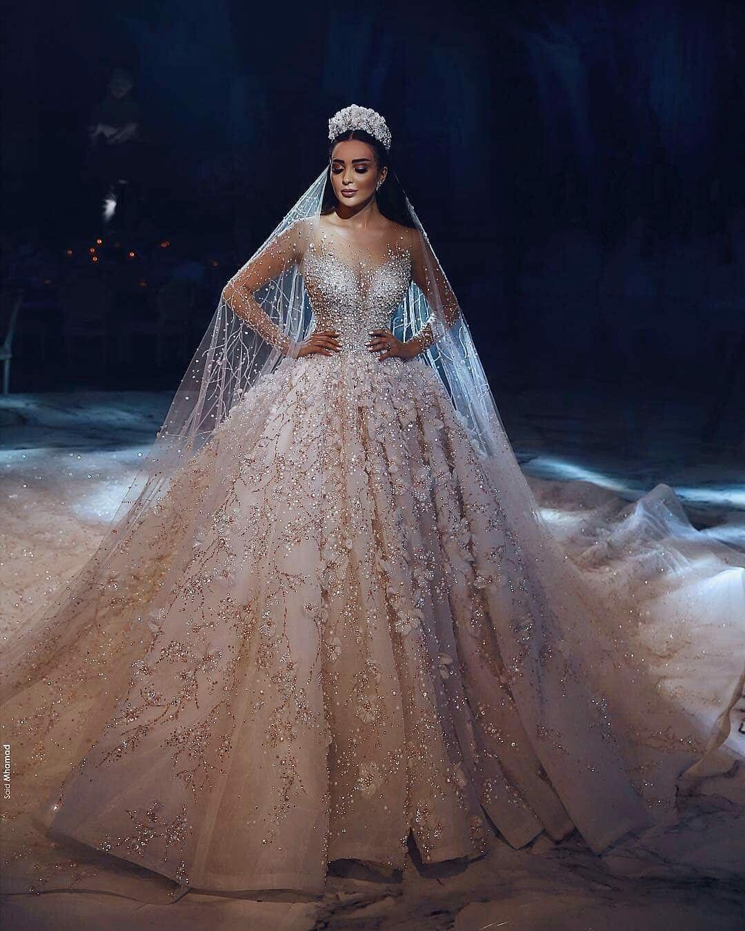 Pin Oleh Sabah Hashem Di Mariee Gaun Pengantin Putri Pengantin Gaun Perkawinan