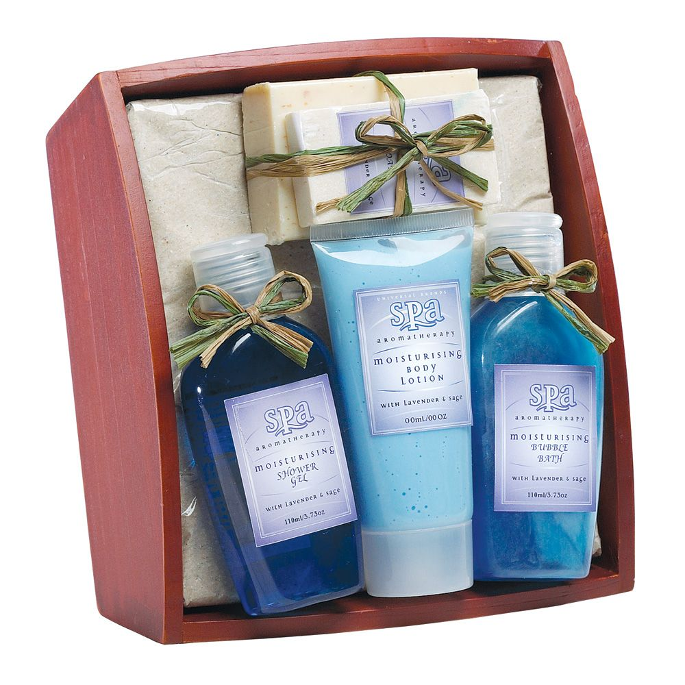 36397 Lavender & Sage Bath Set On Tray at MomNDads.com A tasteful ...