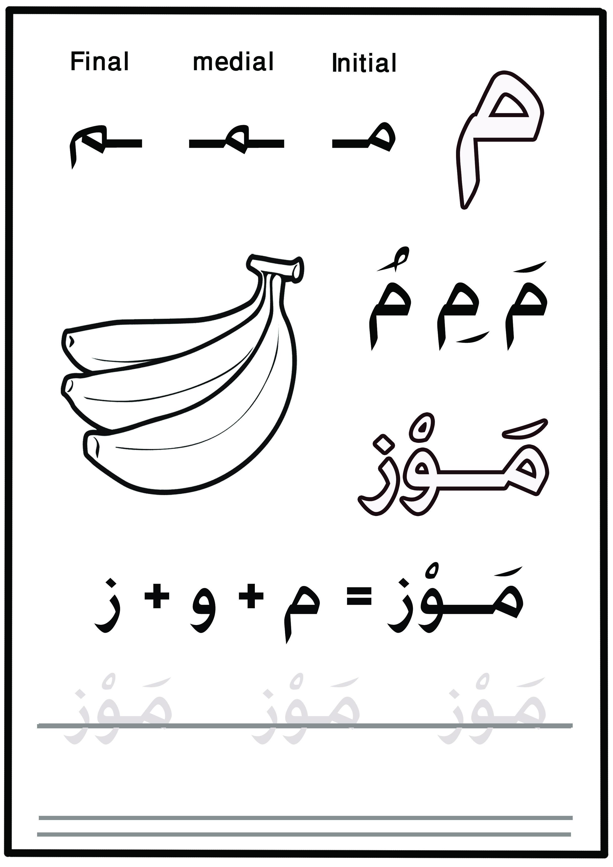 Alif Baa Taa Tsa For Kids Amr T Worksheets Learning