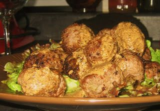 Always Order Dessert: Coconut Meatballs with Coconut Rum Dipping Sauce -- Food Blog and Recipes