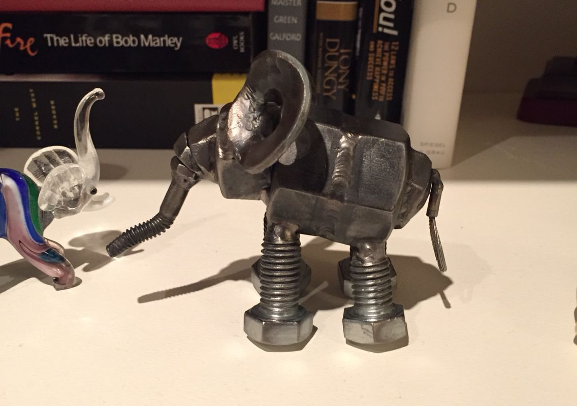 Nuts And Bolts Elephant
