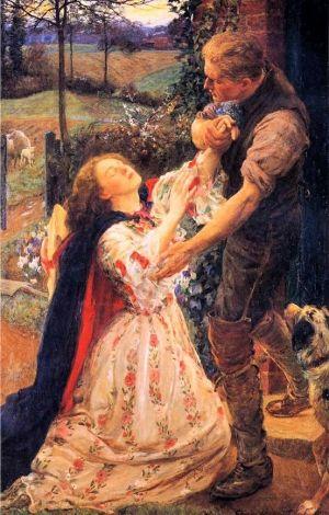 George Clausen ( English artist, 1852- indulgy.com300 × 470Buscar por imagen Forgiven, George Harcourt. English (1868-1948) by Maiden11976 Henry Gillard Glindoni . The Flower Girl - Buscar con Google
