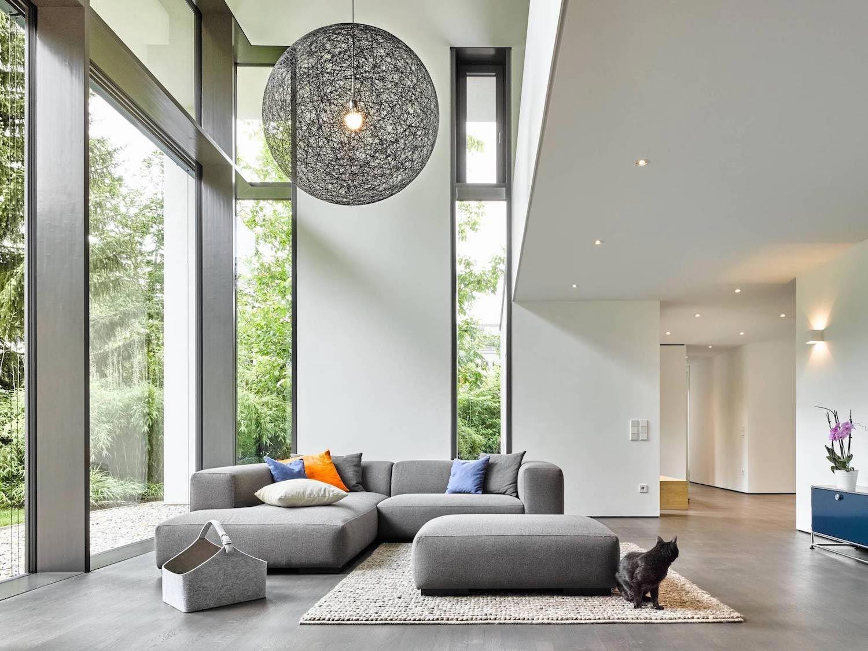 Modern Two Story House Designed By Dettling Architekten In  Bruchsal Helmsheim Germany