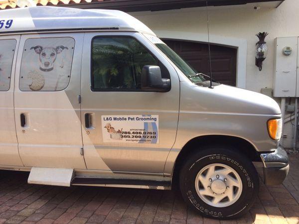 Mobile Pet Grooming Van For Sale In Miami Fl Offerup Pet Grooming Mobile Pet Grooming Van For Sale