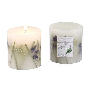 Rose Lavender Hand Poured Candles Claire Burke Original