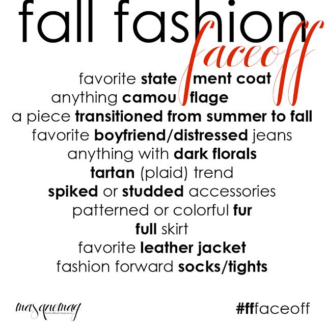 MASQUEmag: Fall Fashion Faceoff! | Autumn fashion, Fashion ...