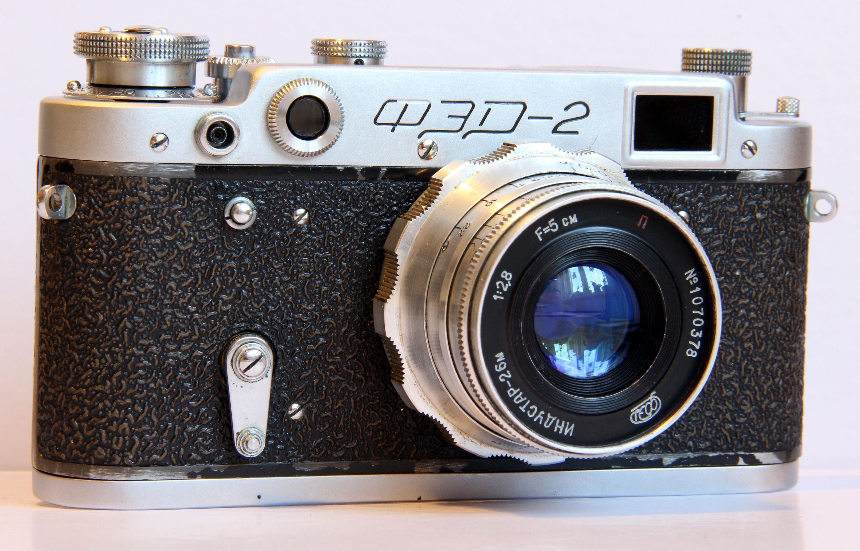 FED-2 Russian Rangefinder Soviet Vintage USSR Film Camera + Industar-26M + Bonus by PhotoVintageStore on Etsy