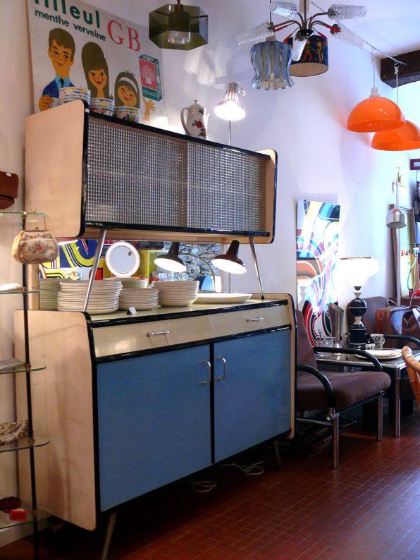 Meubles, luminaires et objets vintage rétro des années 50, 60, 70 et ...