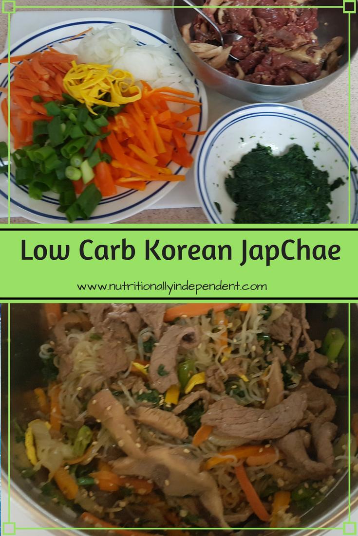 japchae recipe low carb Low Carb Japchae