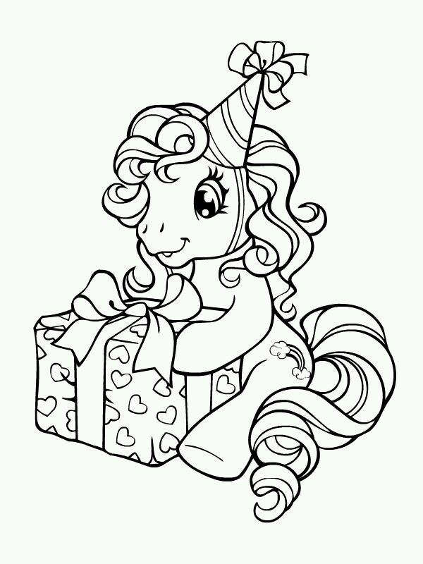 Pin By Peggy Proost On My Little Pony My Little Pony Coloring My Little Pony Birthday Unicorn Coloring Pages