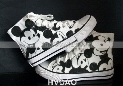 Mickey Mouse Disney Black /& White Trainers Sneakers Shoes Kids Unisex Eu Sizes