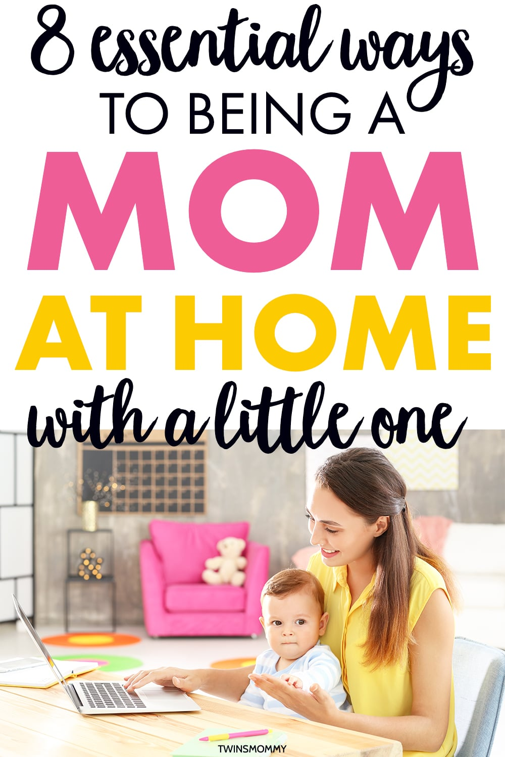 Advice for moms at home. If you're a stay-at-home mom or work from home mom, learn how to balance motherhood and career at home. #workfromhome #parents #adviceformoms