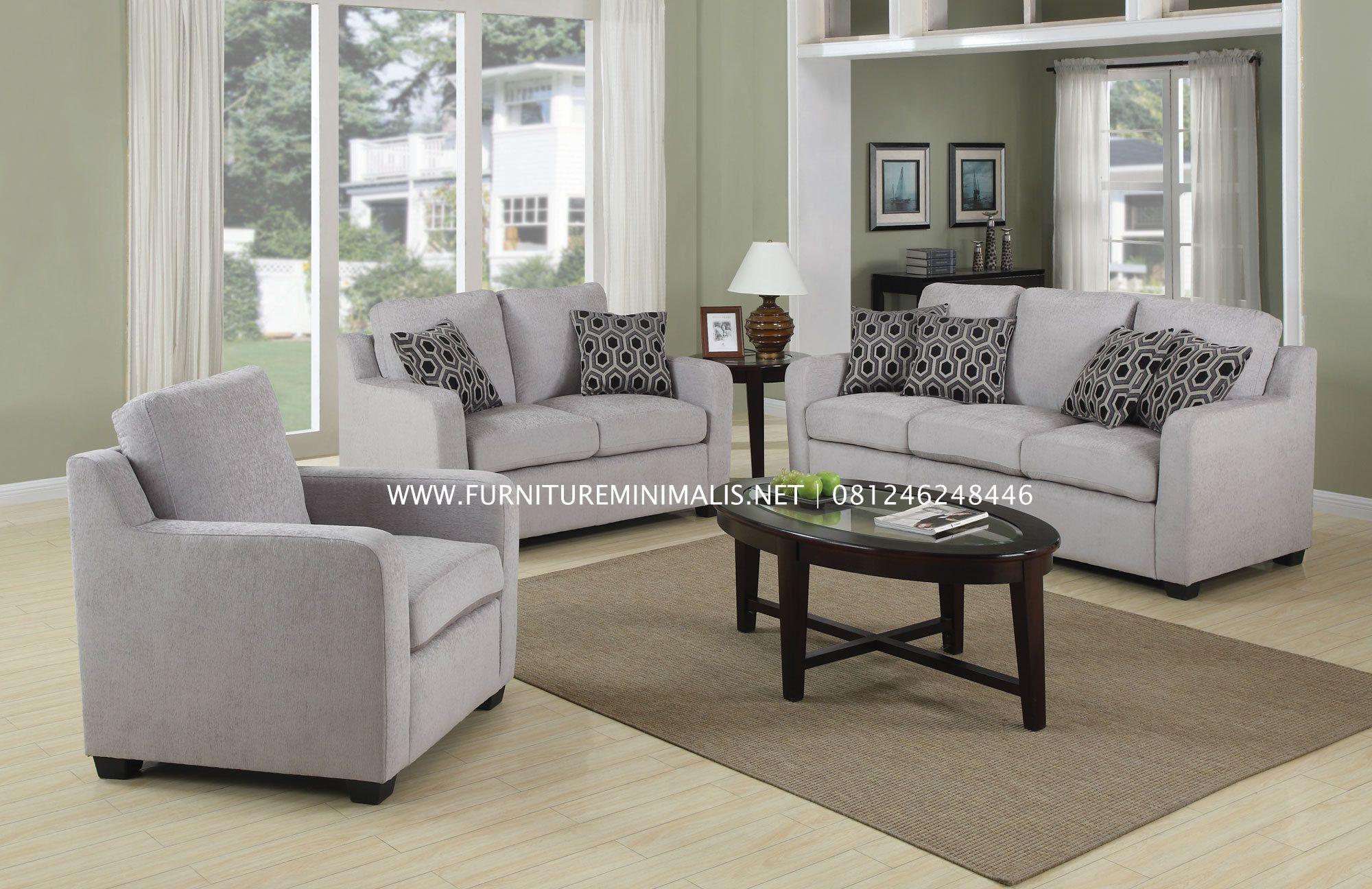 Modern Furniture Jepara kursi tamu sofa minimalis mewah terbaru modern murah - furniture
