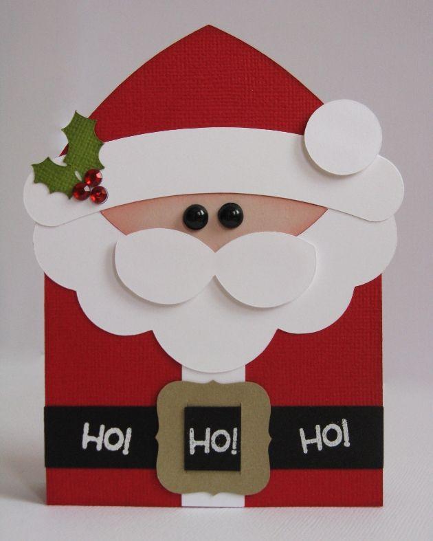 A Nativity Shaped Christmas Card by Mendi Yoshikawa - Scrapbook