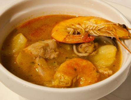 Caldereta de arroz marinero comida y bebida que adoro - Caldereta de langostinos ...