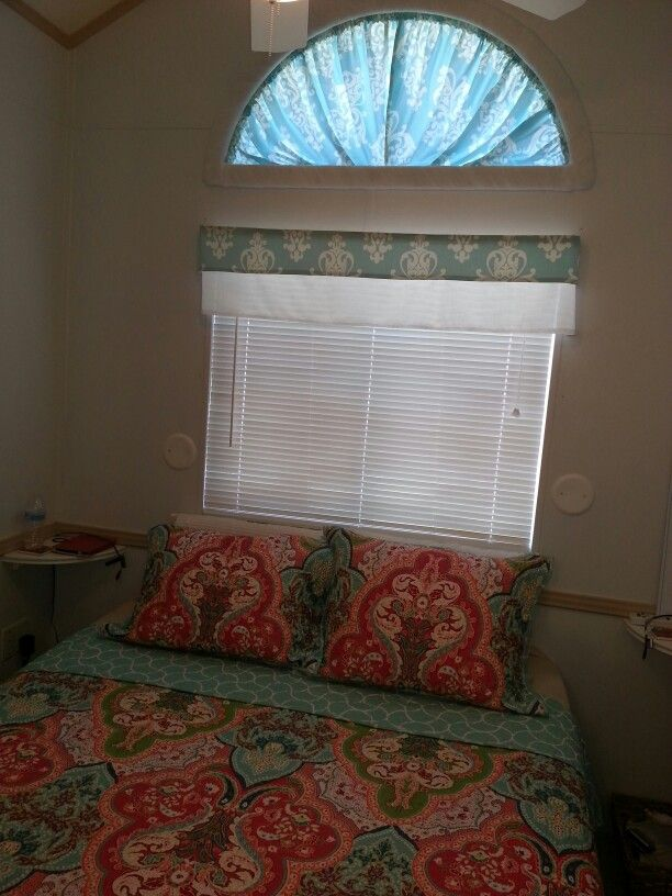 Half Moon Window Curtain Made Using A Hula Hoop As A