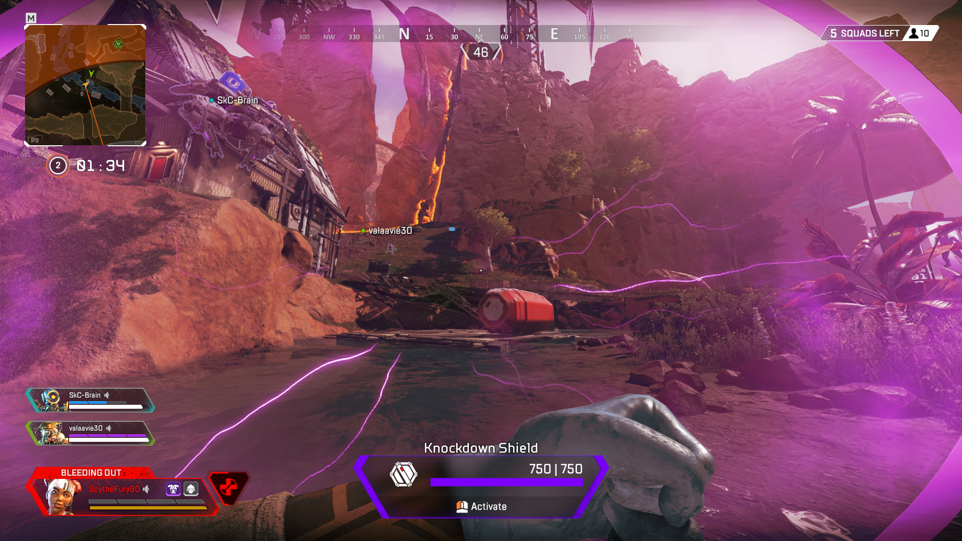 Knockdown Shield Apex Legends Pc Game Reviews Battle