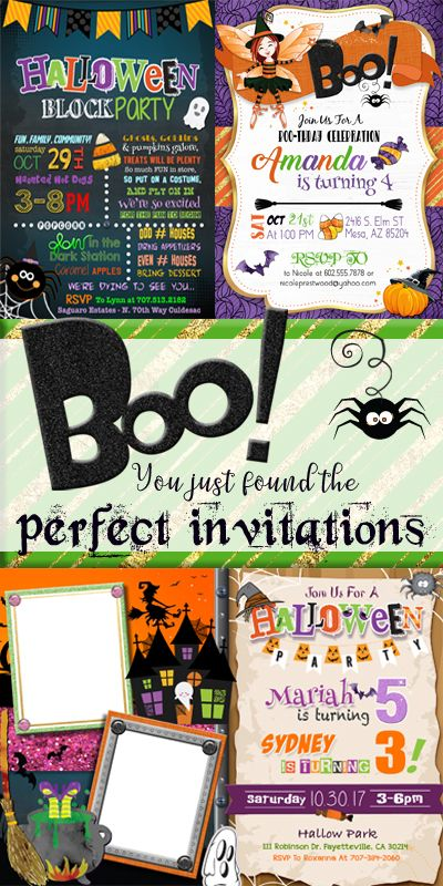 halloween party invitations halloween