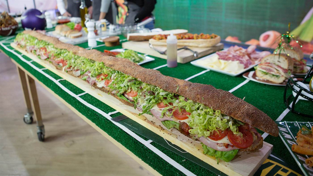 Photo of Make a giant Italian hero sandwich to feed a crowd on game day